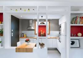 photo de cuisine ouverte ouverture cuisine sur salon élégant salon et cuisine ouverte vos