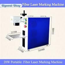 ceramic engraving portable mini 20w metal laser engraving machine fiber laser metal