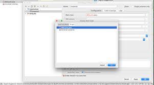 app class java setup intellij idea to run one class app stack overflow