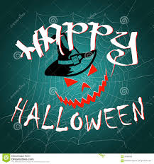 happy halloween card template stock vector image 78772062