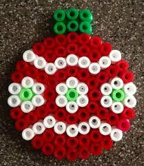 christmas ornament hama beads perles bricolage et diy