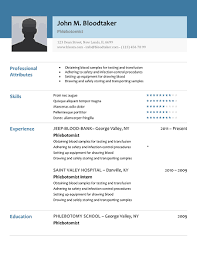 modern resume layout 2014 jeep download 10 professional phlebotomy resumes templates free