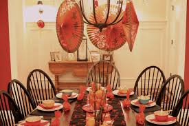 chinese new year table decorations 821