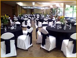 cheap black chair covers tablecloths and chair covers awesome black table linens and white