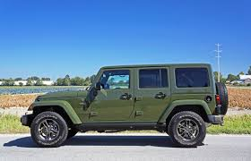 700 hp jeep wrangler 2016 jeep wrangler unlimited 75th anniversary edition road test
