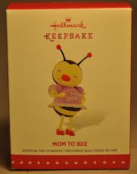 nib hallmark keepsake to bee expecting baby ornament 2015