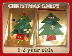 Easy Christmas Decorations For Toddlers To Make by Easy Christmas Cards For Toddlers Here Come The Girls