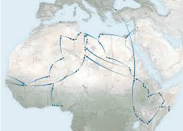 South African Airways Route Map by What U0027s Behind The Surge In Refugees Crossing The Mediterranean Sea