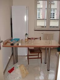plan de travail sur pied cuisine fabriquer une table plan de travail forum décoration mobilier