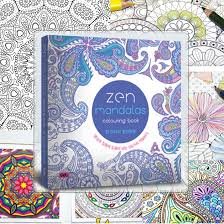 mandala coloring picture detailed picture zen