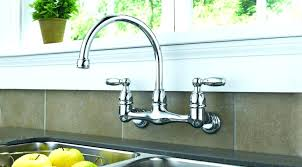 single handle wall mount kitchen faucet glamorous wall mount kitchen faucet with sprayer image of best