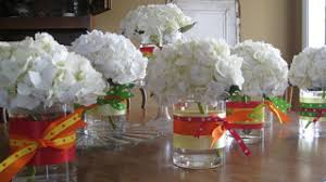 hydrangea centerpieces hydrangea centerpieces weddingbee