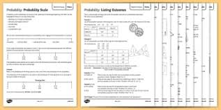 maths probability secondary resources key stage 3 page 1