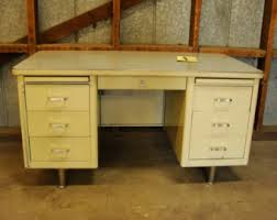 Vintage Office Desk Vintage Office Desk Etsy