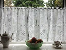 Lace Cafe Curtains Lace Cafe Curtains Uk Homedesignview Co