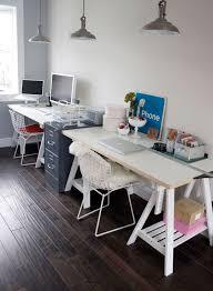 Alternative Desk Ideas The 25 Best Double Desk Office Ideas On Pinterest Double Desk