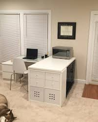 Large L Desk by How To Hide A Large Dog Crate 1 42
