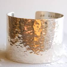 cuff bracelet from images Personalised wide silver hammered cuff bracelet by studio on jpg