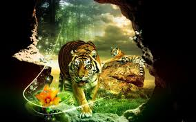 tiger hd wallpaper 1280 800 green tiger wallpapers 43 wallpapers