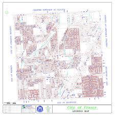 Mi Map Fraser Mi Official Website City Maps