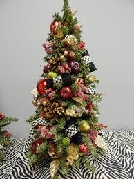 Lighted Topiary Trees Christmas Topiary Tree Christmas Wreath Pre Lit Topiary