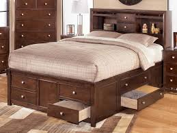king size bed with storage drawers underneath storage decorations