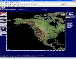 downloading and projecting usgs digital elevation models