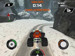 monster truck videos crashes 3d monster truck snow racing android apps on google play