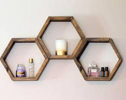 Diy Honeycomb Shelves by Honeycomb Shelves Etsy