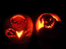 Zero Nightmare Before Christmas Pumpkin Carving Patterns by The Pink Bandit