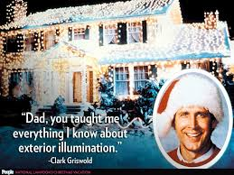 Clark Griswold Meme - the annual christmas outdoor light tragedy cup of tea
