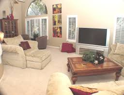 interior classy home decorating ideas using wall mounted dark