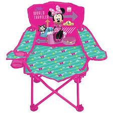 Minnie Mouse Armchair Disney Minnie Mouse Jet Set Fold U0027n Go Chair Walmart Com