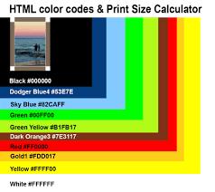 color codes canvas colored border html color codes