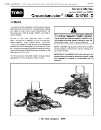 gm4500 4700 prelim serv man pdf groundsmaster 4500 d 4700 d model