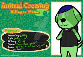 Animal Crossing Villager Meme - animal crossing villager meme by fancypancake55 on deviantart