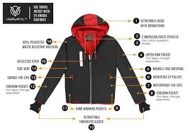 travel jacket images Versatyl the world 39 s 1st travel jacket with 29 features by jpg