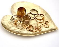 metal dish ring holder images Love ring dish etsy jpg