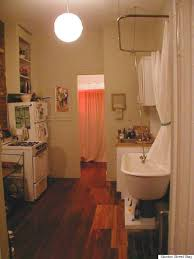 Bathrooms In Nyc Nyc Apartment Comes With Everything Including A Shower In The