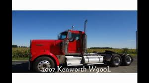 kenworth w900l for sale kenworth tandem axle day cab w900 for sale video dailymotion