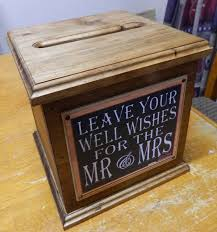 wedding card box sayings wooden wishing well wedding card box assort sayings handmade