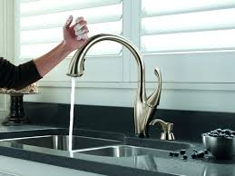 touchless faucets kitchen breathtaking kitchen faucets touchless mydts520