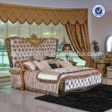 0061 royal gorgeous bedroom set furniture style fancy wooden