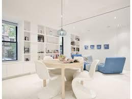 white box built in bookcase blue side chair throw sofa bookshelf