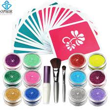 aliexpress com buy ophir 12 color temporary tattoos glitter