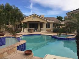 luxury guest house on prime estate with large pool glendale