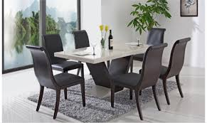 kitchen table extraordinary marble table and 6 chairs marble