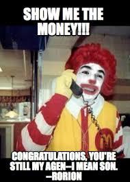 Show Me The Money Meme - meme creator show me the money congratulations you re still