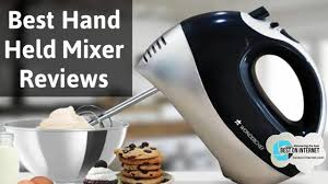 best hand held mixer reviews of 2017 youtube