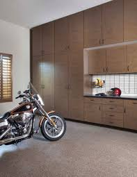 custom garage cabinets drawers storage organization bronze extra tall cabinets inset workbench motorcycle mojave floor costa may 2013